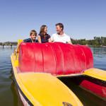 Bootsfahrt auf Seen